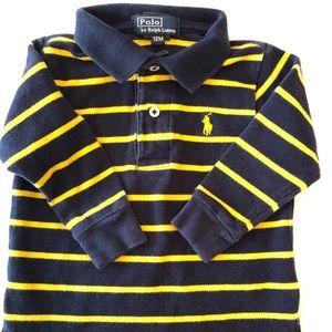 Ralph Lauren Long Sleeve striped Polo